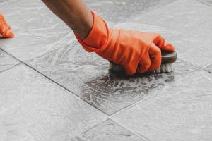 Grout And Tile